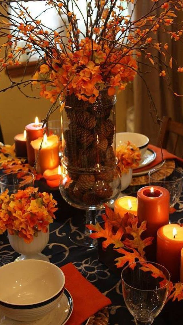 fall table centerpieces 2
